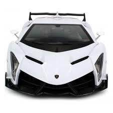 lamborghini rc cars licensed lamborghini veneno rc car 1 14 rtr w led lights white