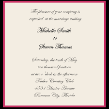 wording for wedding invitations sle wedding invitations template best template collection