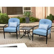Mainstays Searcy Lane 6 Piece Padded Folding Patio Dining Set - courtyard creations patio furniture 1196