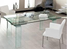 table cuisine avec rallonge table verre rectangulaire avec rallonges bonne qualité verre très