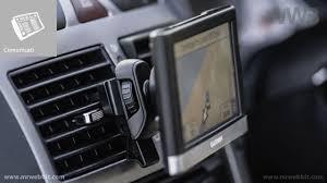 porta navigatore auto come posizionare il navigatore satellitare in auto