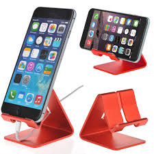 Iphone 5 Desk Stand by Universal Aluminum Desktop Desk Mount Holder Stand For Cell Phone