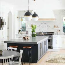 grey kitchen countertops with white cabinets 30 stylish and kitchens with light and contrasts