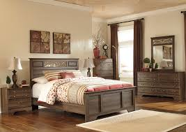 Queen Wood Bed Frame U2013 by By The Room Furniture Allymore Queen Panel Bed W Dresser Mirror