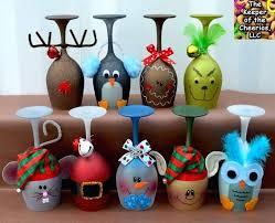 ornaments ideas painted santa wood