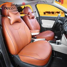 housses si es auto sur mesure autodecorun pu en cuir siège couvre pour mercedes gla 200