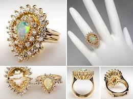 Opal Wedding Ring by Opal Wedding Rings Sets Ring Beauty