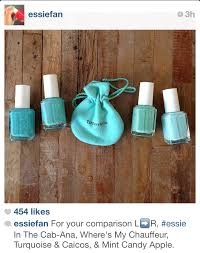 tiffany blue essie nailed it pinterest tiffany blue