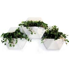 hex living wall planter by copo clay origami pinterest