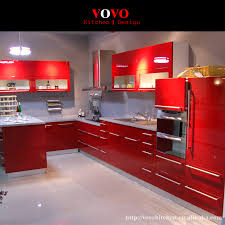 popular kitchen mdf buy cheap kitchen mdf lots from china kitchen kitchen cabinet with red uv base cabinet