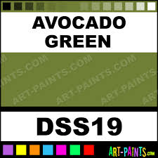 avocado green sosoft fabric acrylics fabric textile paints dss19