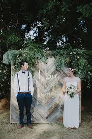 Wedding Backdrop Gold Gold Coast Backyard Wedding Ruffled