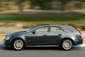 cts cadillac wagon 2014 cadillac cts v wagon test motor trend