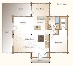 great home floor plans the mendon log home floor plans nh custom log homes gooch real