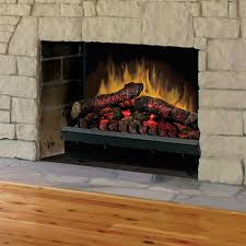 lighting dimplex electric fireplace insert in black metal for