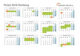 Kalender 2018 Hamburg Feiertage Ferien Hamburg 2018 Ferienkalender Zum Ausdrucken
