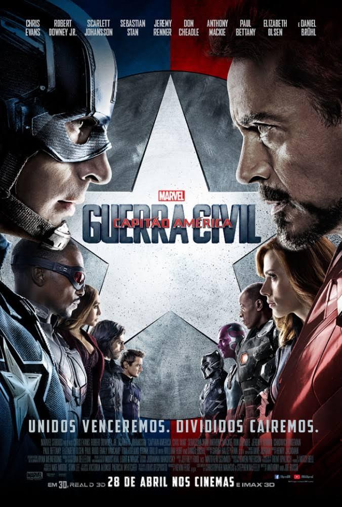 Capitão América 3 Guerra Civil Torrent Dublado (2016)