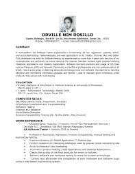 Experienced Manual Testing Resume 100 Manual Testing Resume Career Playbook Resume Cover Letter