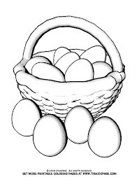 Coloring Pages Of Eggs Murderthestout Egg Colouring Page