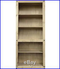 Solid Wood Bookcase Wooden Shelving Unit Tall Wooden Bookcase Solid Wood Book Shelf