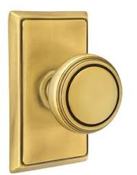 Dummy Door Knobs For French Doors - providence door set with round brass knobs privacy in antique