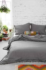 Pom Pom Crib Bedding by Bedding Set Baby Bedding Beautiful Light Grey Bedding Satiating