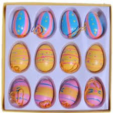 Easter Tree Decorations Amazon by Gisela Graham Wooden Fretwork Easter Tree Decorations Box Of 12