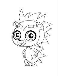 littlest pet shop cool pose littlest pet shop coloring pages