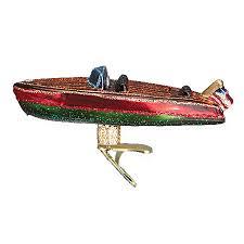 craft boat ornament world