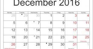 printable december 2016 calendar pdf printable december 2016 calendar with holidays calendar