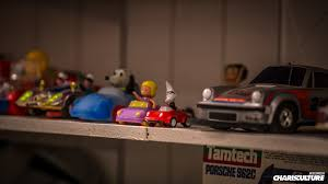 porsche toy car the charis culture run the race