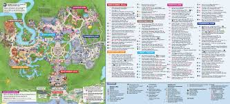 Walt Disney World Magic Kingdom Park Map Walt Disney World