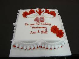 Wedding Anniversary Cakes Wedding Anniversary Cake By Cakes Of Distinction Cork Ireland