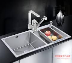 Kitchen Sink Basin by Stainless Steel Kitchen Handmade Sink Basin Mixfur Made Double Bowl
