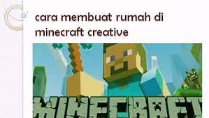 membuat rumah di minecraft cara membuat rumah di minecraft creative video dailymotion
