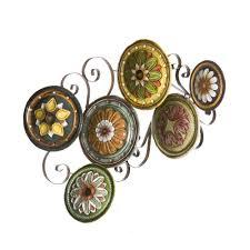 home decor plates amazon com sei scattered italian plates wall art wall sculptures