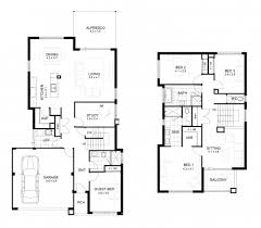 4 bedroom 2 story house plans 2 storey house plans with 4 bedrooms homeca
