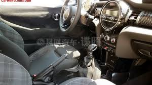mini cooper interior 2014 mini cooper interior spied uncovered in china autoblog