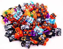 halloween ties online get cheap bow skull for dog aliexpress com alibaba group