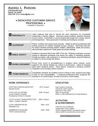 standard resume format airline customer service resume free resume example and writing diaster resume and cover letters