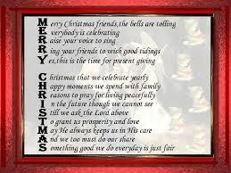 6 merry christmas friendship poems merry christmas