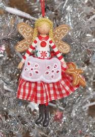 gisela graham two christmas fairy angels tin dingly dangly legs