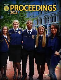 proceedings 2013 by national ffa organization issuu