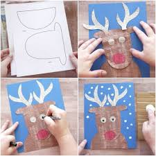 Kids Reindeer Crafts - 25 unique reindeer craft ideas on pinterest easy kids christmas