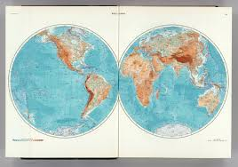 World Atlas Maps by 1 2 World Physical The World Atlas David Rumsey Historical