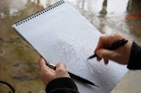 pen writing on paper rite in the rain weatherproof paper and writing gear review tool a company called rite in the rain has been making weatherproof paper since 1916 and have kindly sent me some of their paper products and writing gear to