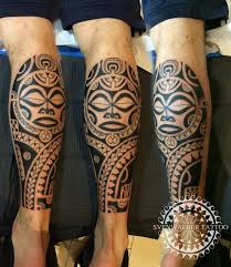 chris brown leg tattoo lower leg calf the best polynesian tattoos in the world