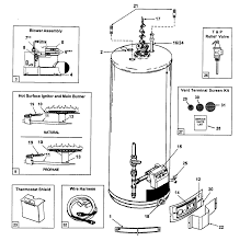 whirlpool water heater diagram whirlpool water heater