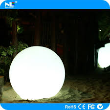christmas ornamental illuminating outdoor led lighted ball clear