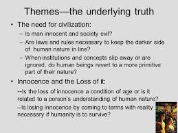 lord of the flies themes and messages lord of the flies by william golding concepts for study ppt download
